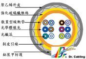fiber-loose-tube-armored-single-outside-draw_裝甲型光纖纜線@www.templar-tech.com.tw